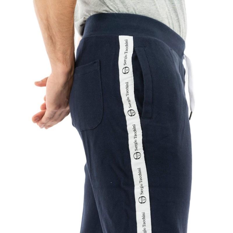Pantalon de survêtement marine SERGIO TACCHINI |Espace des