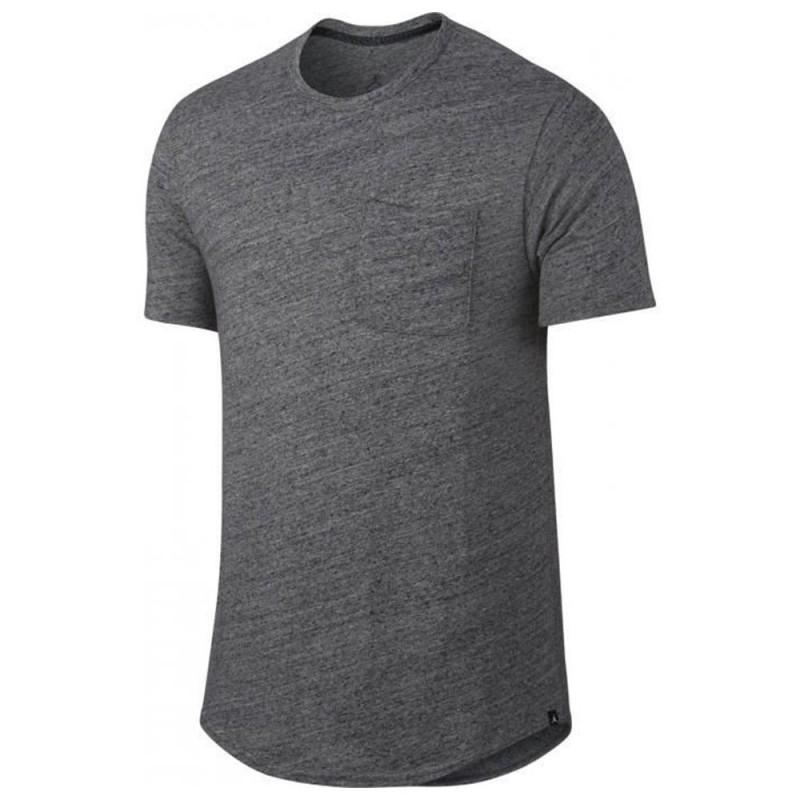 T shirt Noir chiné Homme Nike Air Jordan 23 pas cher|Espace des Marques