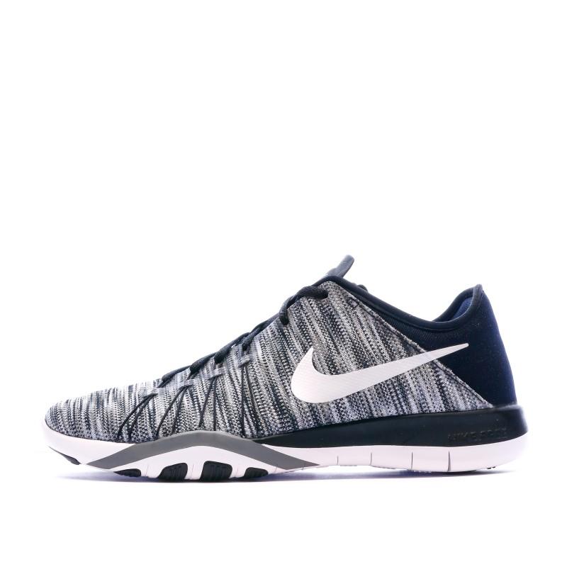 Chaussures de fitness grises femme Nike Free TR 6 AMP   Espace des Marques
