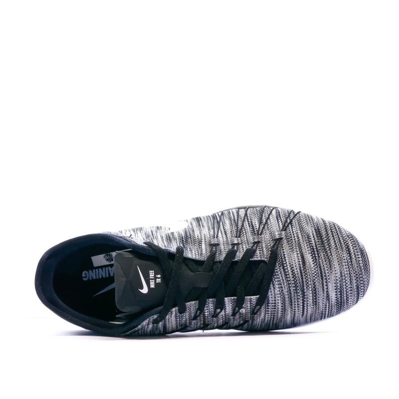 Chaussures de fitness grises femme Nike Free TR 6 AMP | Espace des Marques