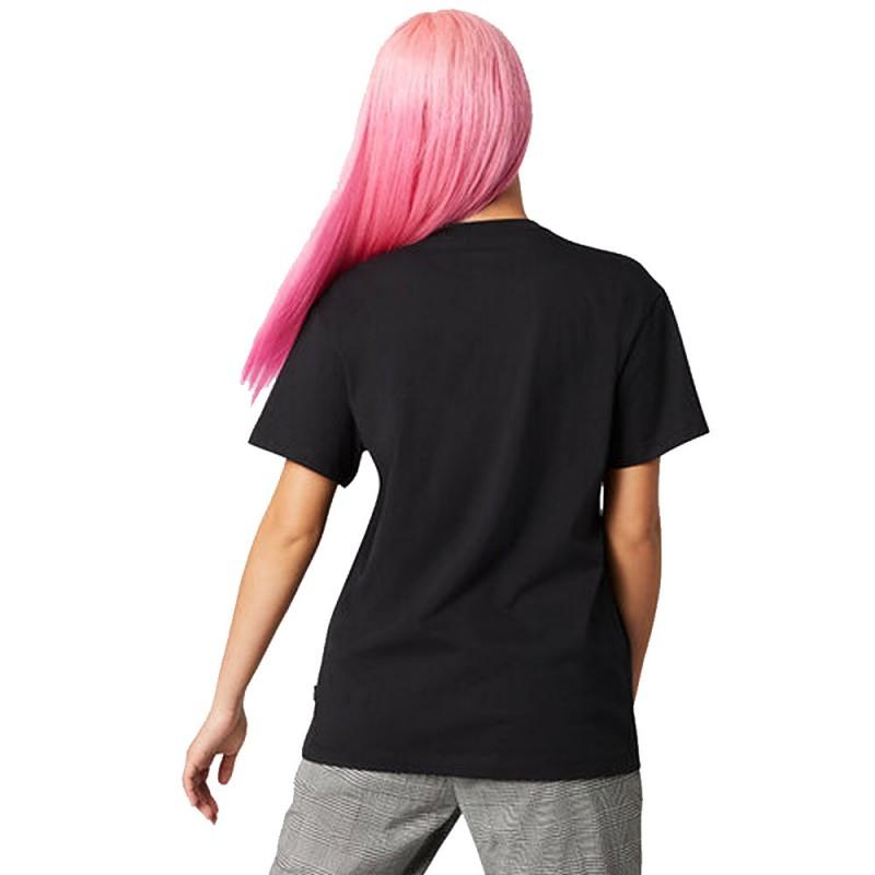 t shirt femme converse noir