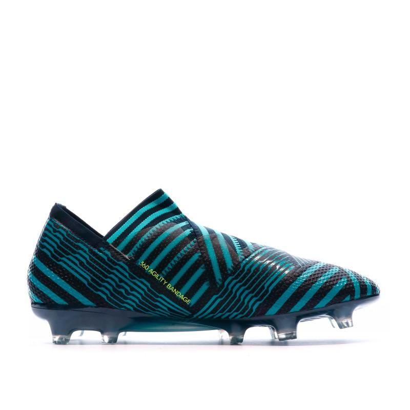 Nemeziz 17+ 360 Agility Chaussures de foot bleunoir homme Adidas FG