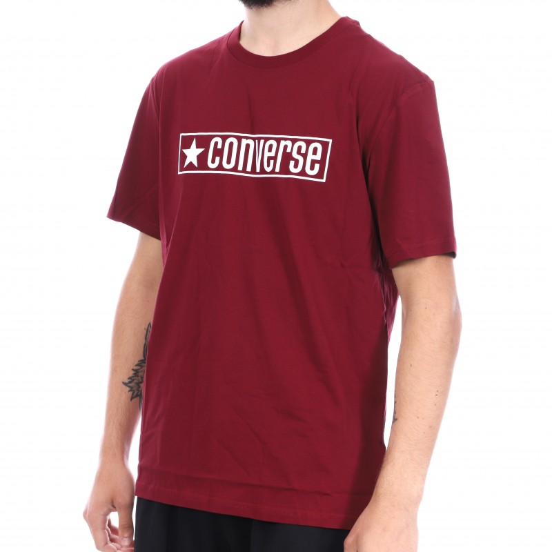 tee shirt converse homme rouge