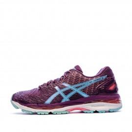 Chaussures de running violet femme Asics Gel Nimbus 18 | Espace ...