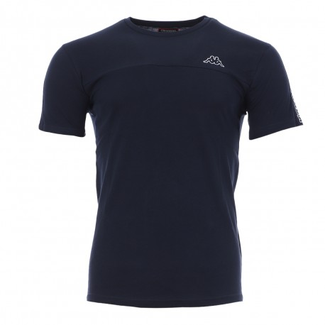 T-shirt marine homme Kappa Itap pas cher