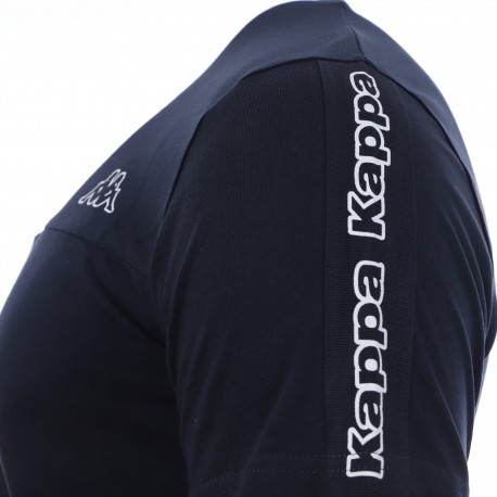 T-shirt marine homme Kappa Itap discount