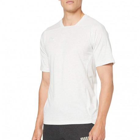 T-shirt blanc cassé chiné homme Puma Final petit prix