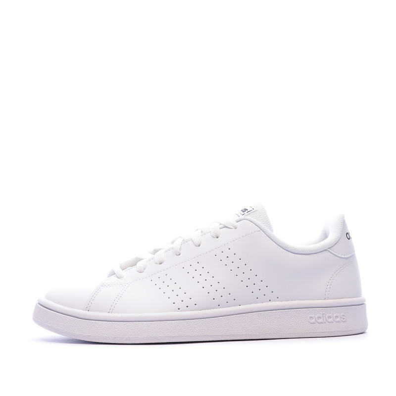 Baskets Blanches Homme Adidas Advantage