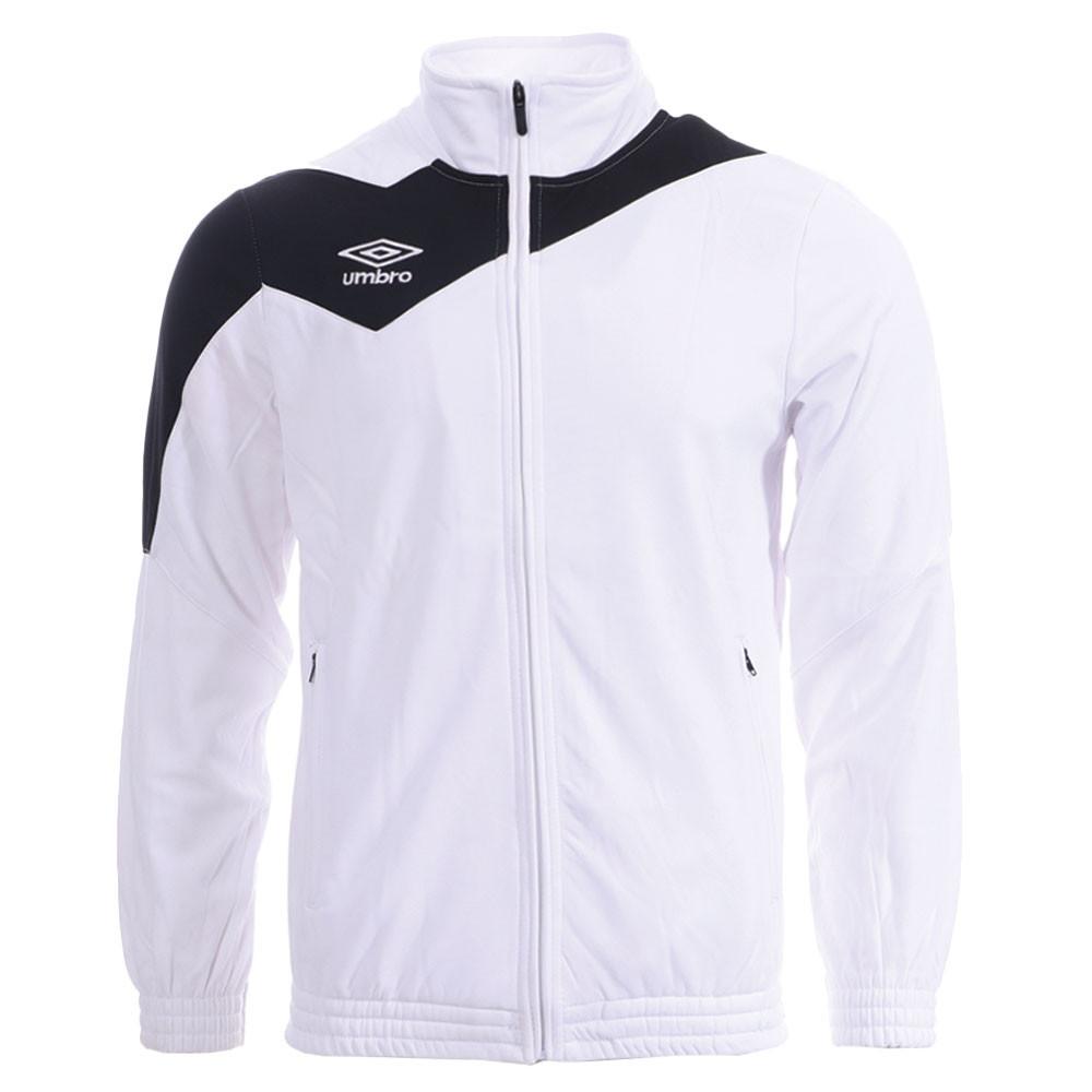 Veste de survêtement blanc/noir homme Umbro Division 1