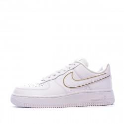 Nike air force 1 Baskets femme blanche et or pas cher | Espace des ...