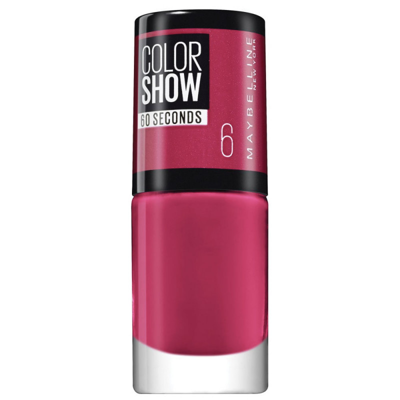 Vernis à Ongles Color Show 60Sec Maybelline NY 6 Bubblicious pas cher