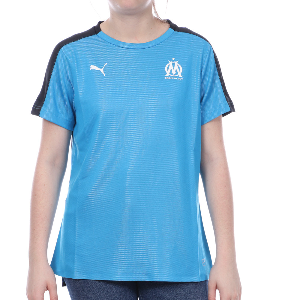 Maillot Bleu Femme Puma OM WNS STADIUM JERSEY pas cher | Espace des Marques