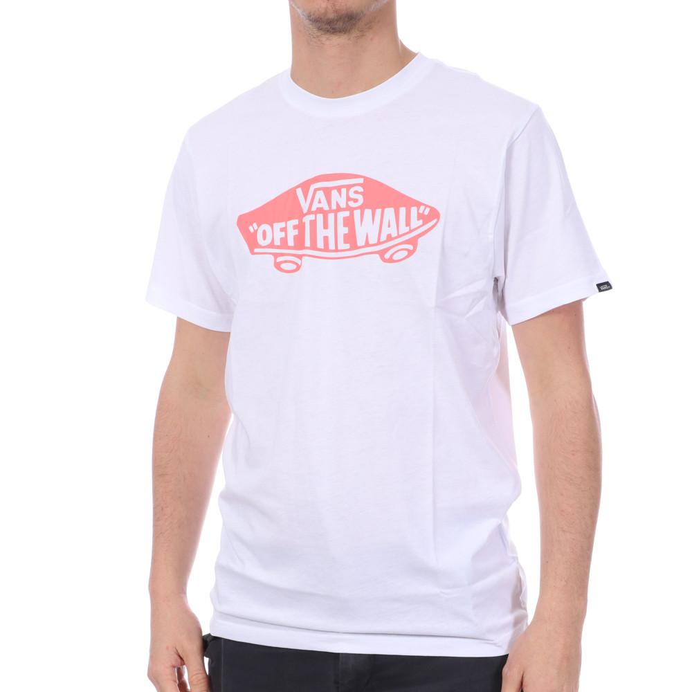 T-shirt Blanc Homme Vans MN OTW pas cher   Espace des Marques