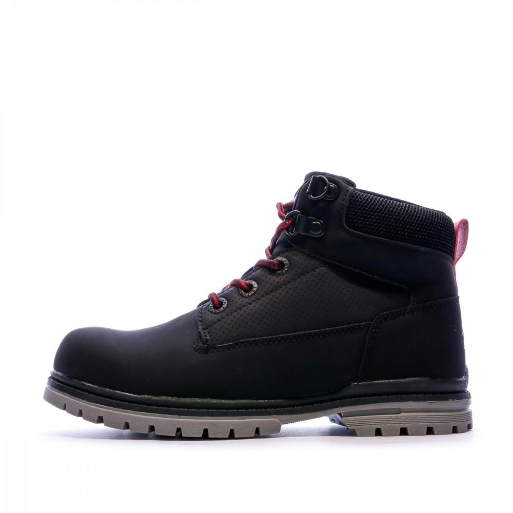 Boots Noires Garçon Kappa GUNTER JR