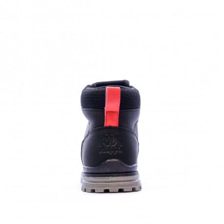 Boots Noires Garçon Kappa GUNTER JR pas cher