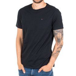 T-Shirt noir homme Tommy Hilfiger Original Jersey pas cher