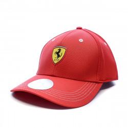 Casquette rouge homme Puma Ferrari Fanwear BB Cap pas cher