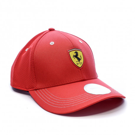 Casquette rouge homme Puma Ferrari Fanwear BB Cap déstockage