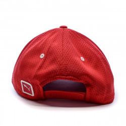 Casquette rouge homme Puma Ferrari Fanwear BB Cap prix bas