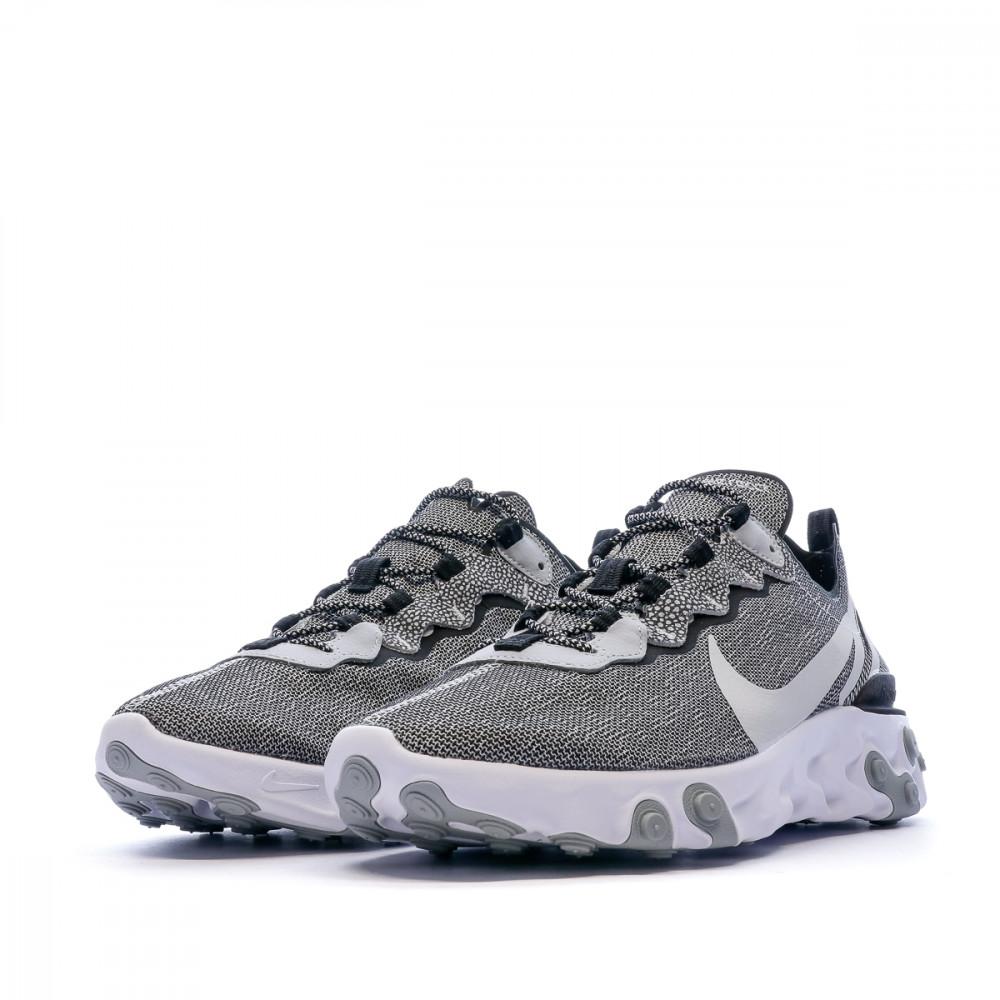 Nike React Element 55 SE Grise Homme/Femme pas cher   Espace des ...