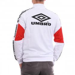 Veste zippée blanche homme Umbro Street déstockage