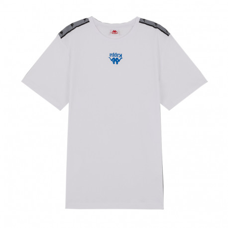 T-shirt Blanc Homme Kappa Authentic
