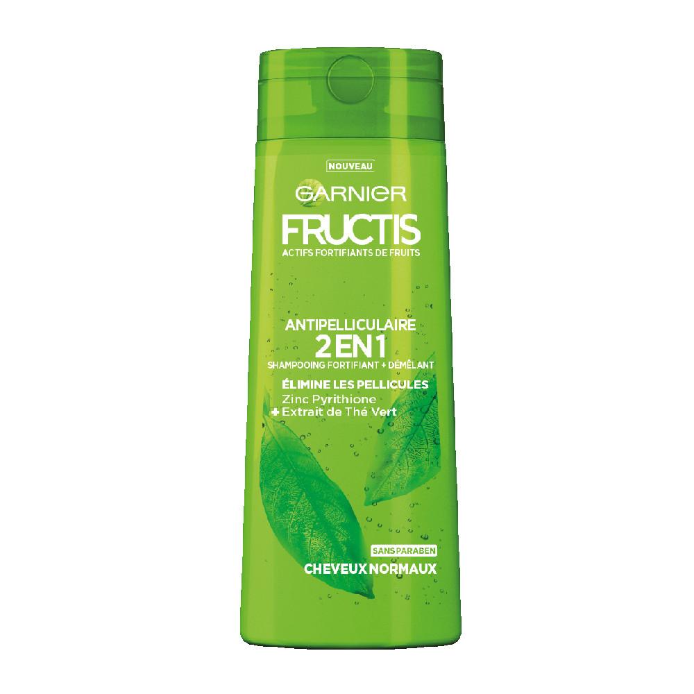 Shampooing fortifiant anti-pelliculaire Garnier Fructis Thé Vert