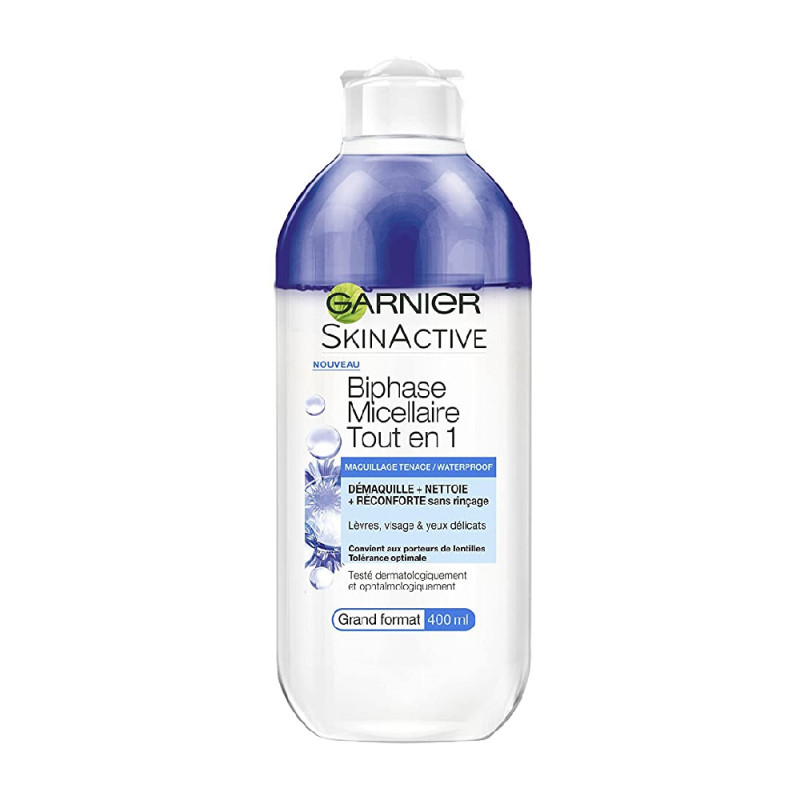 Démaquillant Biphase Micellaire Garnier SkinActive 400ml