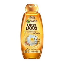 Shampooing Huiles d'argan et Camélia Ultra Doux Garnier 400ml