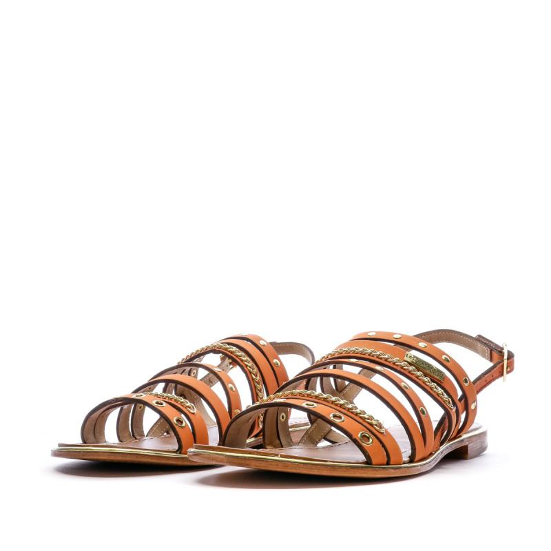 Sandales orange femme Les Tropeziennes Haniac outlet