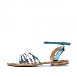 Sandales Multicolore Bleu Femme Les Tropéziennes Hindle