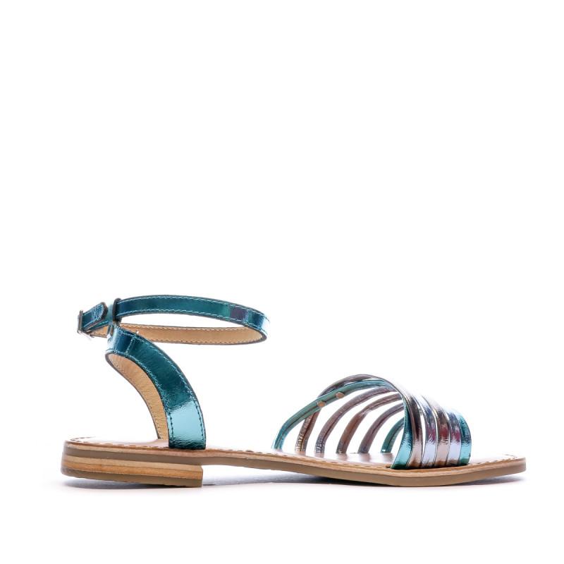 Sandales Multicolore Bleu Femme Les Tropéziennes Hindle pas cher