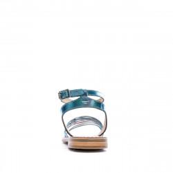 Sandales Multicolore Bleu Femme Les Tropéziennes Hindle petit prix