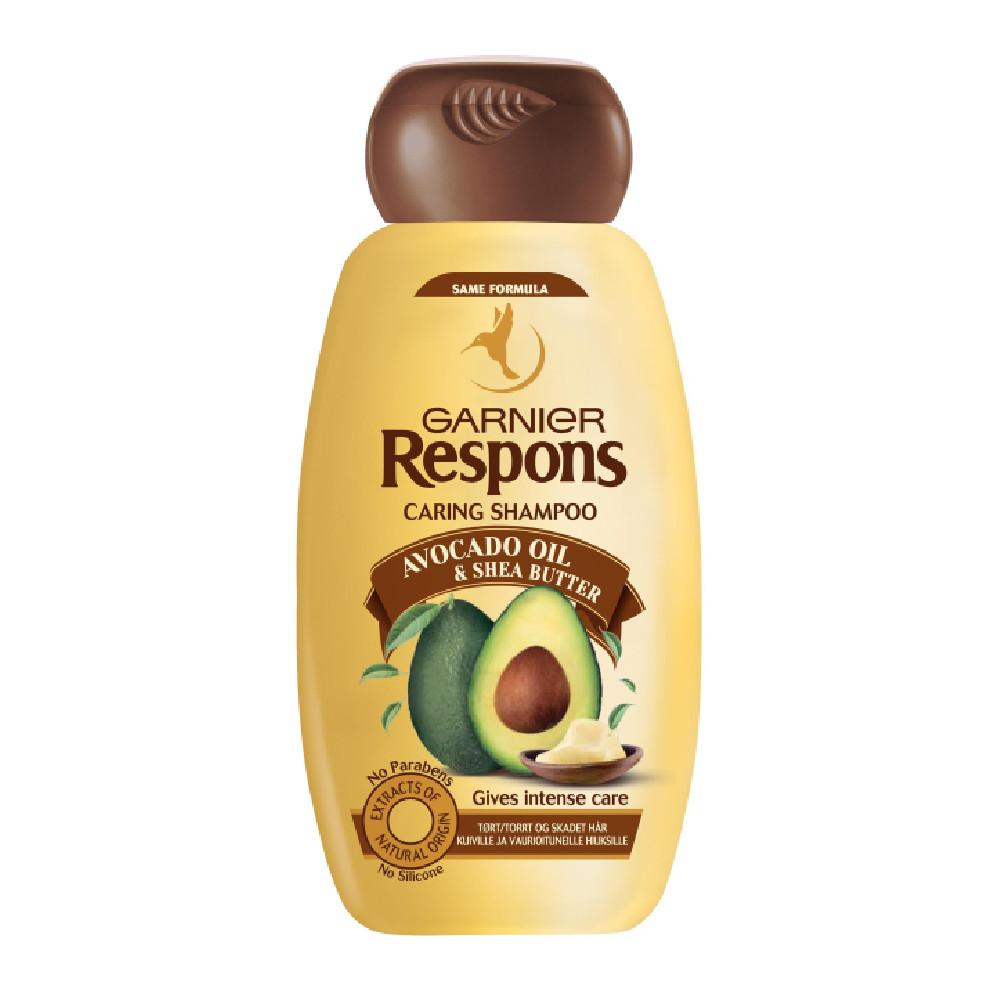 Shampooing à l'Huile d'Avocat et Beurre de Karité Ultra Doux Garnier 600ml