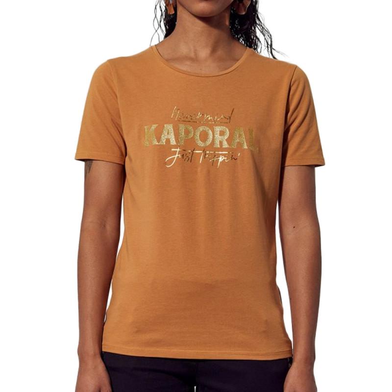 T-Shirt Camel Femme Kaporal Pepin
