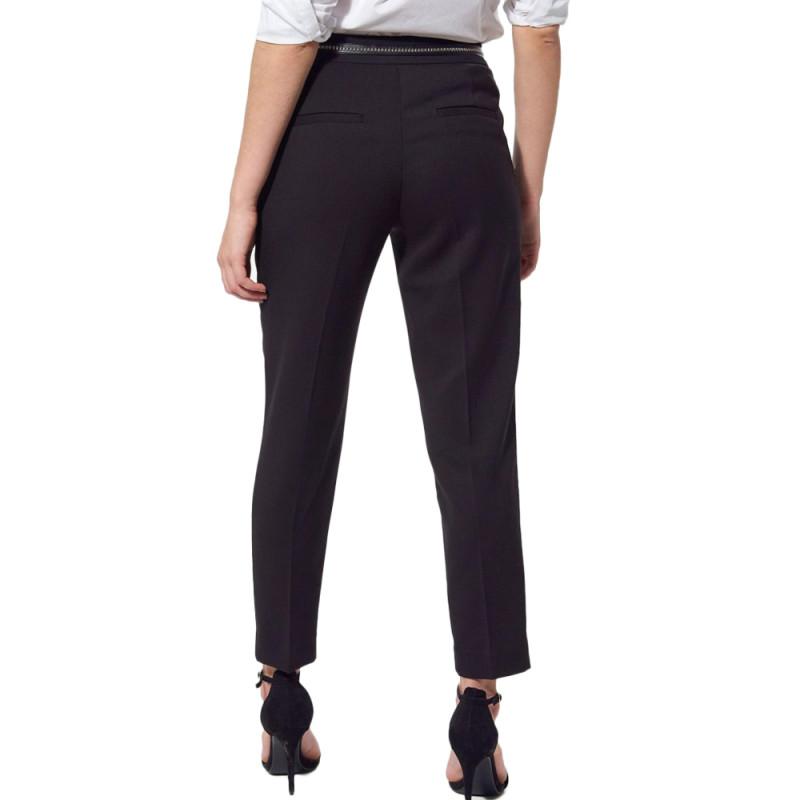 Pantalon Noir tailleur Femme Kaporal Trill pas cher