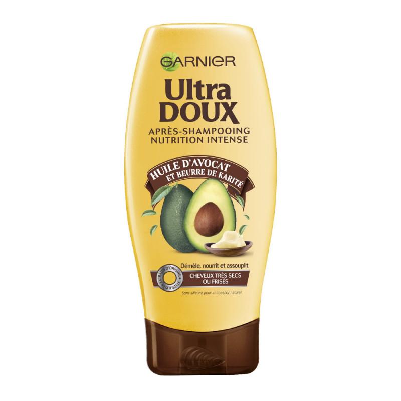 Après-Shampooing Nutrition Intense Huile d'Avocat Et Karité Ultra Doux Garnier 200ml