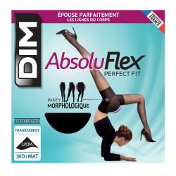 Collant Noir transparent Femme Dim Absolu Flex pas cher