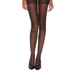 Collant Noir transparent Femme Dim Absolu Flex