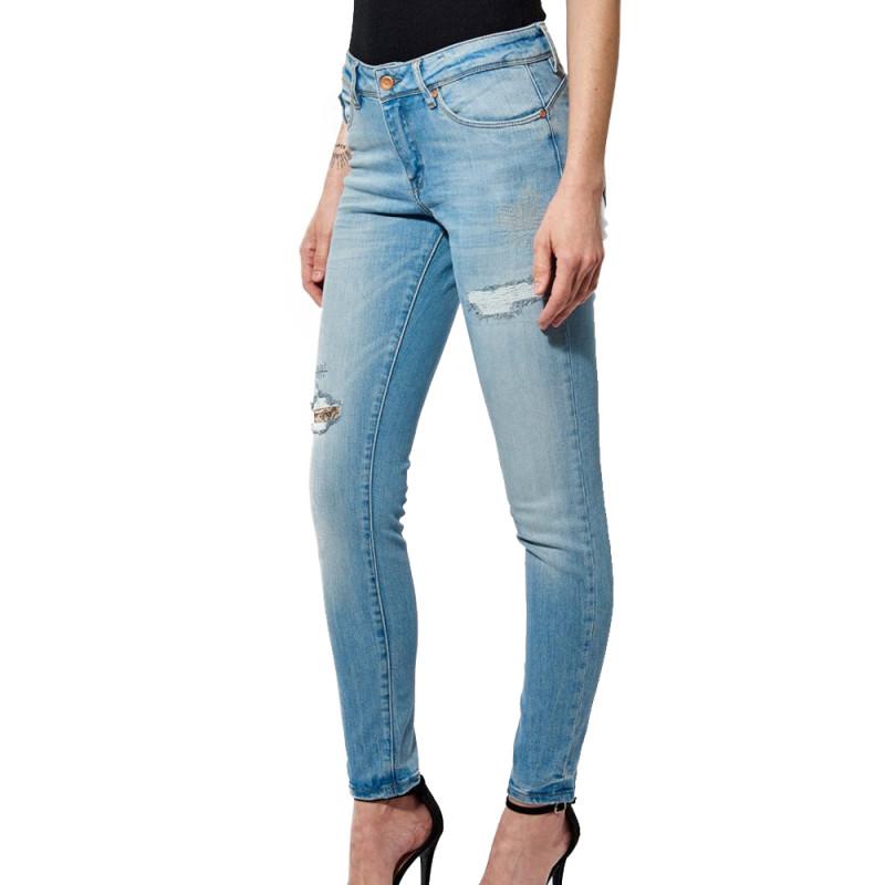 Jeans Slim Bleu délavé Femme Kaporal FLOR