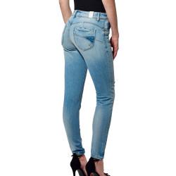 Jeans Slim Bleu délavé Femme Kaporal FLOR prix bas