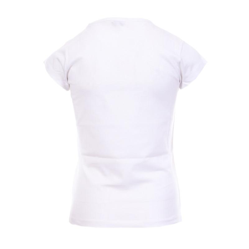 T-Shirt Blanc Fille Kaporal Midinette pas cher
