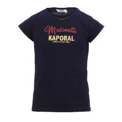 T-Shirt Bleu Fille Kaporal Midinette
