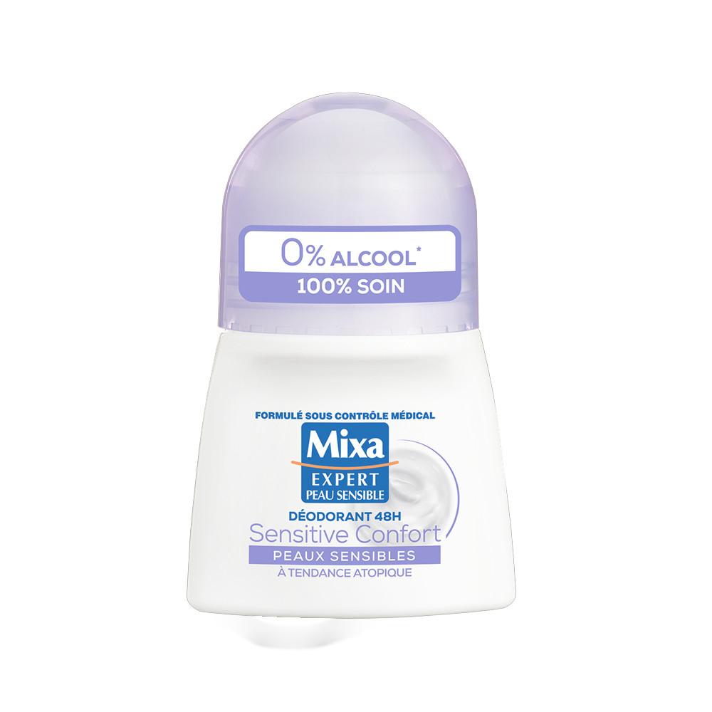 Déodorant à billes Mixa Expert Peau Sensible Sensitive Confort 50ml