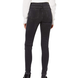 Jeans Skinny Gris Femme Superdry Superthermo pas cher