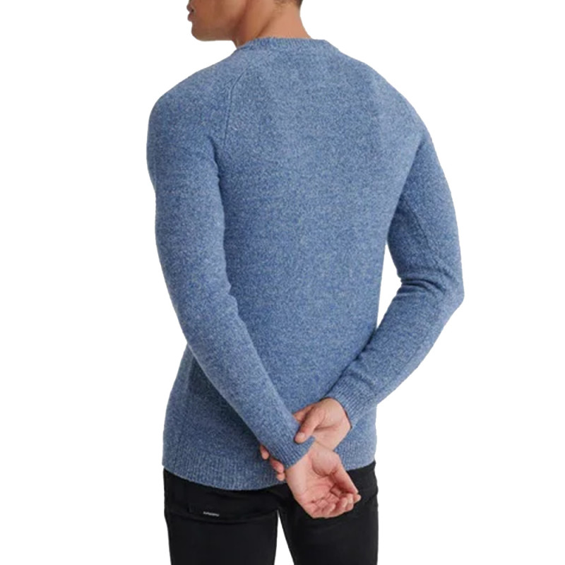 Pull Bleu Homme Superdry Harlo pas cher