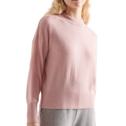 Pull rose femme Superdry Wool Cashmere Crew