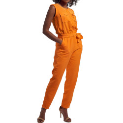 Combinaison Orange Femme Kaporal Aylin