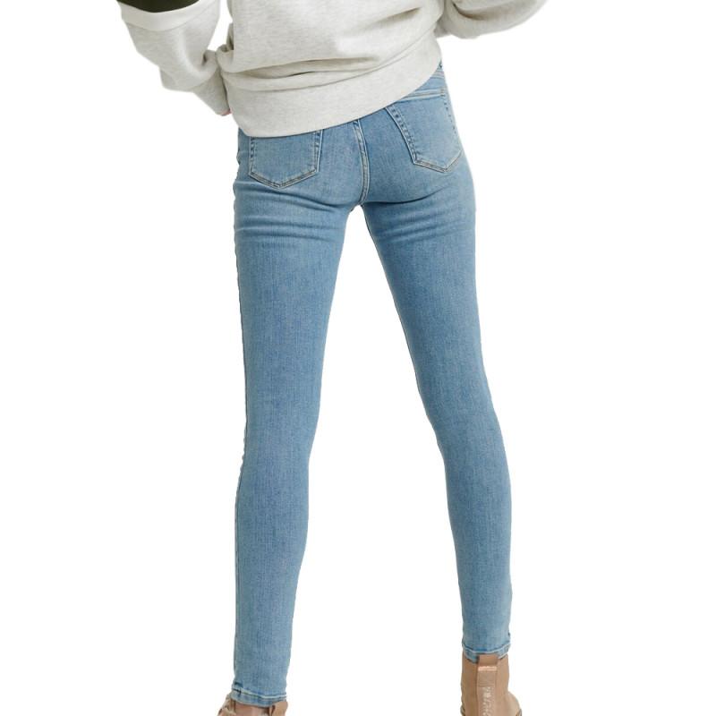 Jeans Skinny Bleu Clair Femme Superdry SUPERVINTAGE pas cher