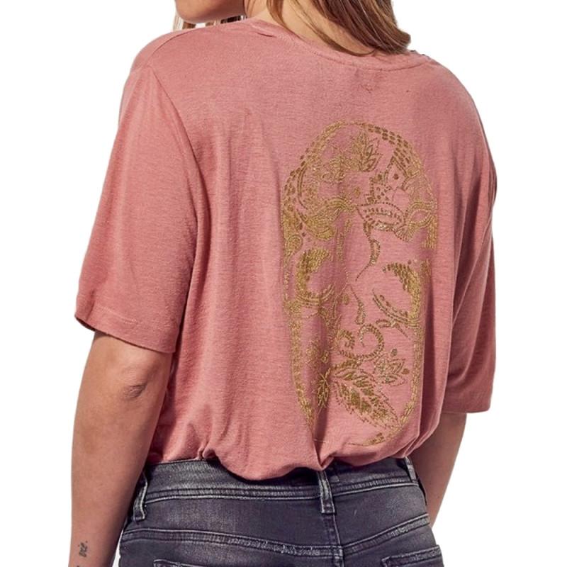 T-shirt Rose Femme Kaporal Paola pas cher